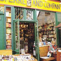 Shakespeare and Company bookstore librarie